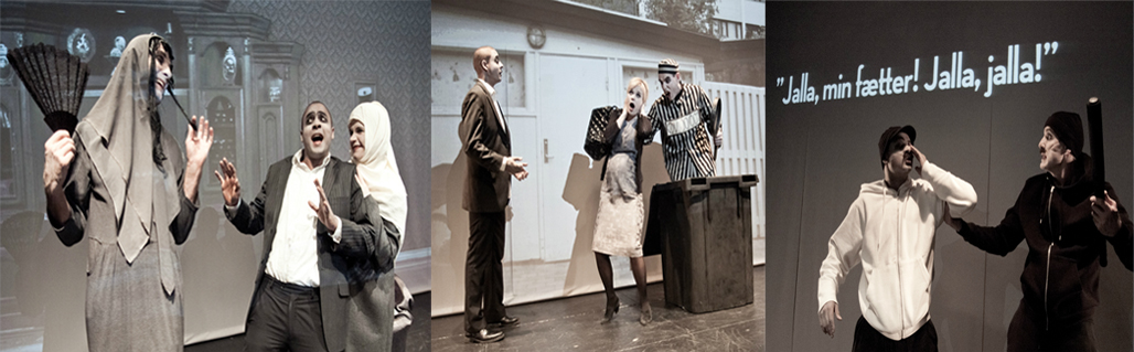 Press photos When Kamal met Maria. Photos: baesfoto.dk